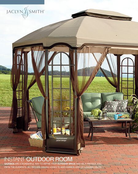Garden Oasis Privacy Gazebo Instructions Gardenxcyyxhcom